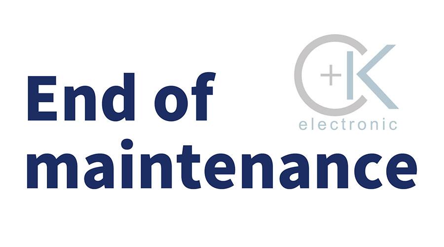 endofmaintenance